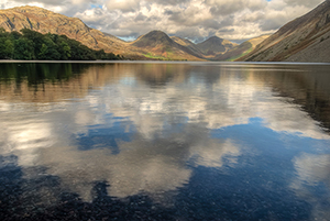 Wast Water in the English Lake District, photo by Alan Lawlor