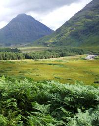 Glen Nevis in Scotland, photo c. NERC