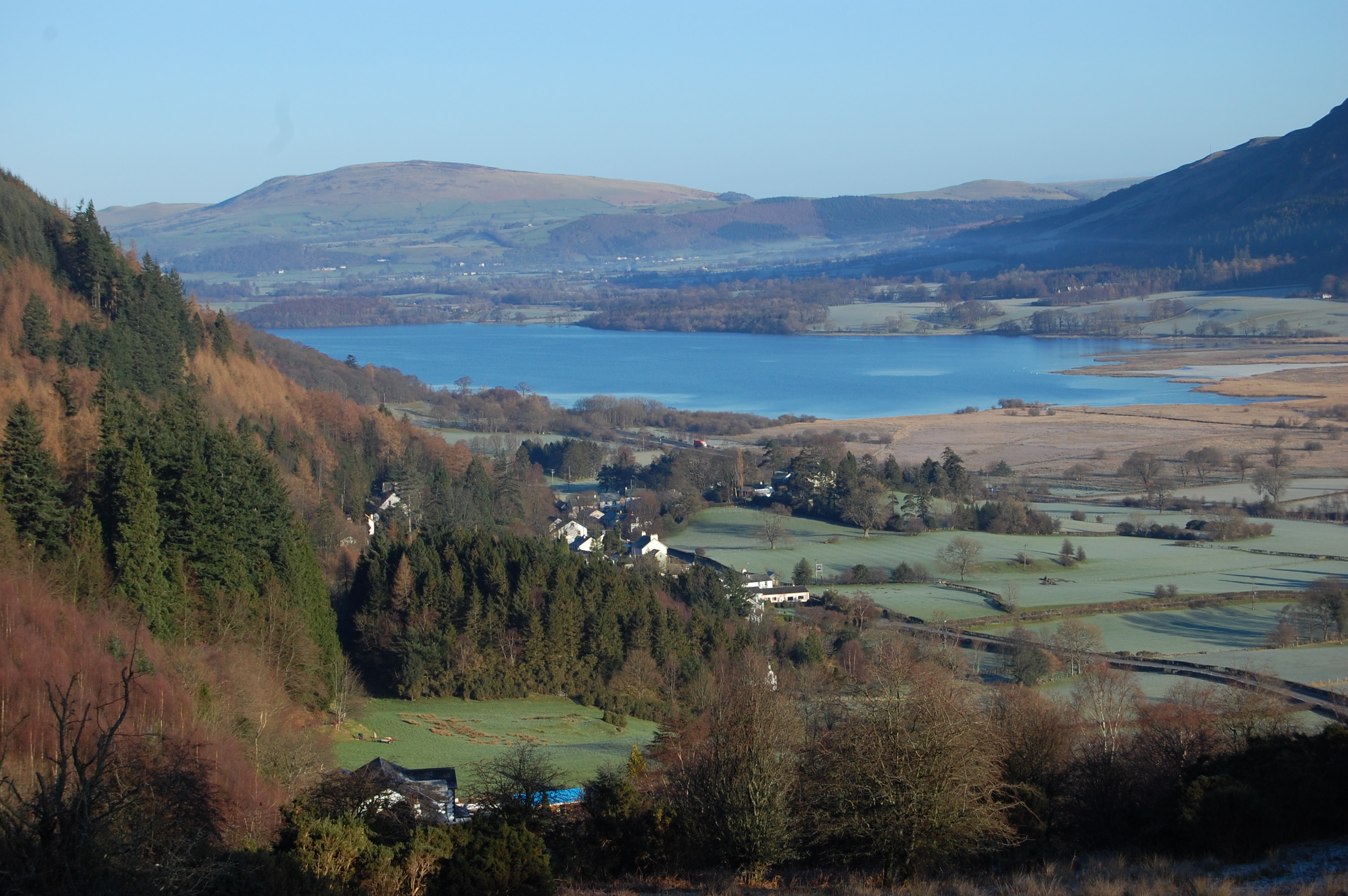Bassenthwaite Lake in north-west England. Photo: Dr Ian Winfield