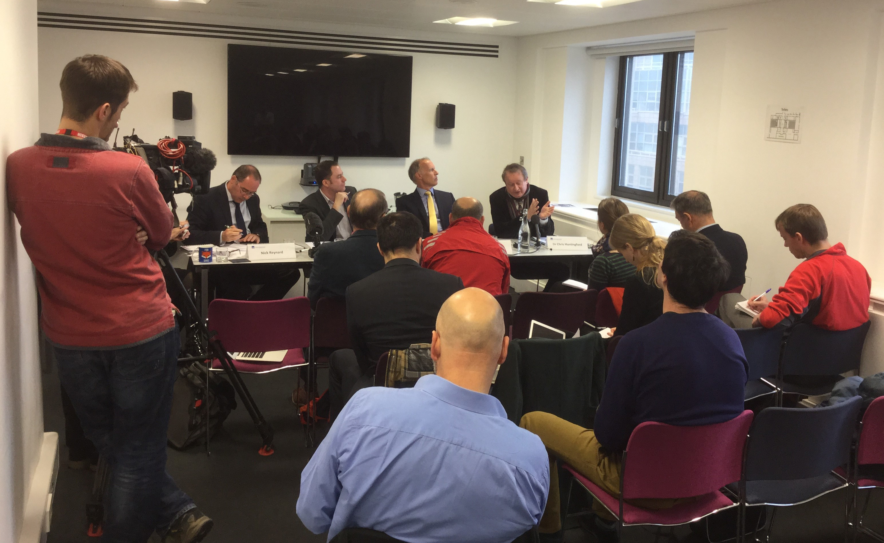 CEH panel at flood science briefing
