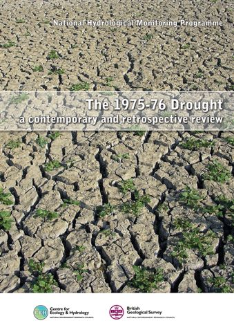 Cover of the 1975-76 Drought report