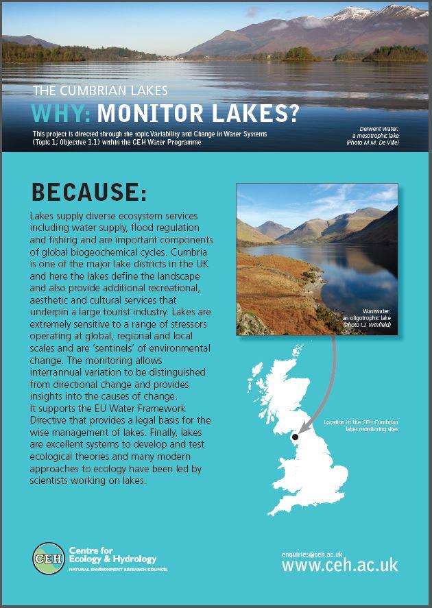 Cumbrian lakes leaflet
