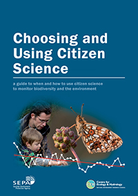 Cover image of Choosing and Using Citizen Science publication