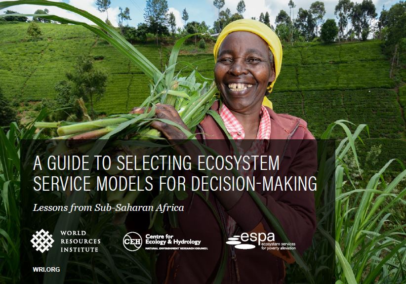 Front Cover: A guide to selecting ecosystem service models for decision-making