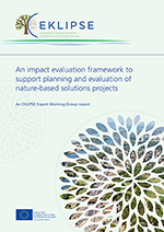 Cover of report entitled Nature-based solutions to promote climate resilience in urban areas