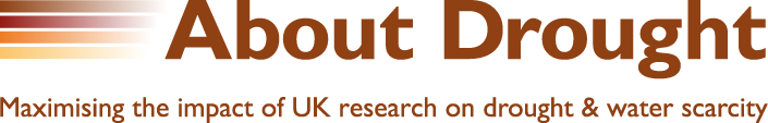 Words saying About Drought: Maximising the impact of UK research on drought and water scarcity