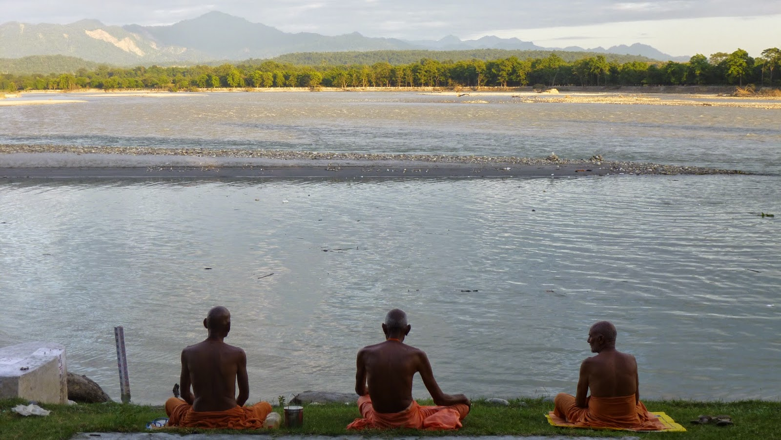 Ganges near Haridwar. Photo: Mike Acreman