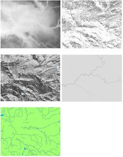 Integrated Hydrological Digital Terrain Model