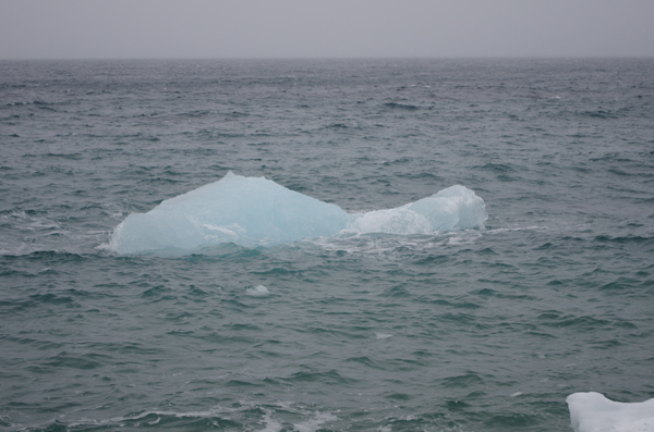Small iceberg in the waters around Nuuk. (Photo by Riku Paavola)