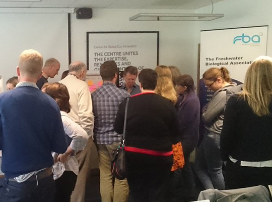 Participating in a discussion session at the 2016 Cumbrian Lakes Forum