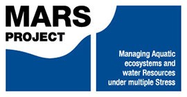 Logo for project called Managing Aquatic ecoystems and Water Resources under multiple Stress