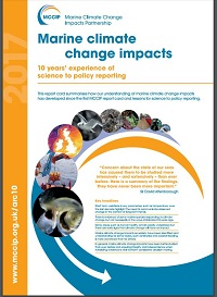 MCCIP report front cover