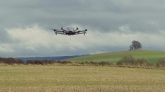 Matrice 600 hexacopter UAV