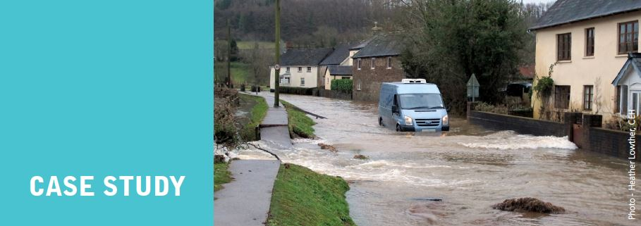 Supporting flood risk
