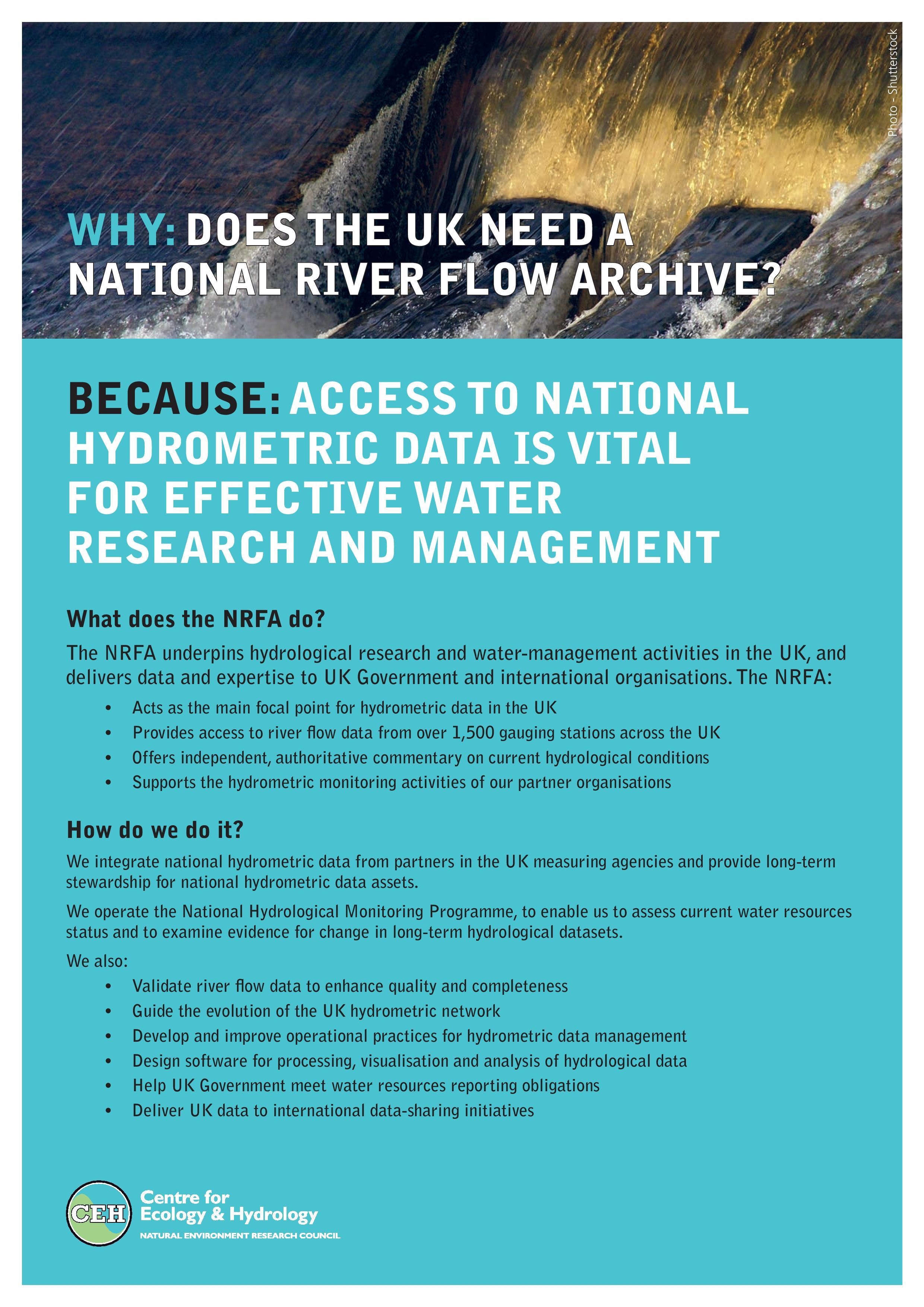 NRFA leaflet