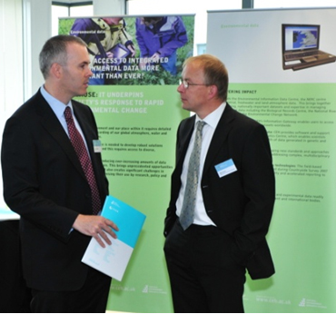 Open Day guests discuss CEH's new Information Gateway