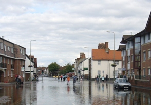 Flooding in Southern England, 2007