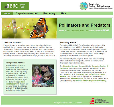 Screenshot from BRC website
