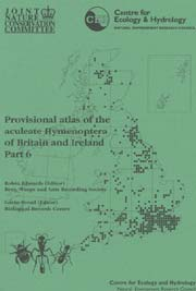 Part 6: Provisional atlas of the aculeate Hymenoptera of Britain and Ireland