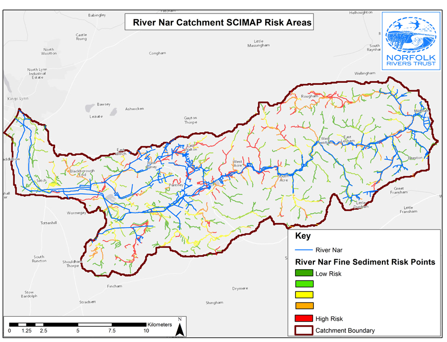 Land Cover Map Case Studies Centre For Ecology Hydrology - River trent map