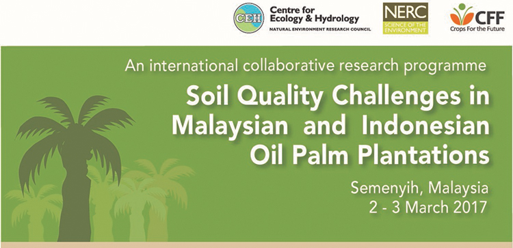 Soil Quality Challenges workshop banner
