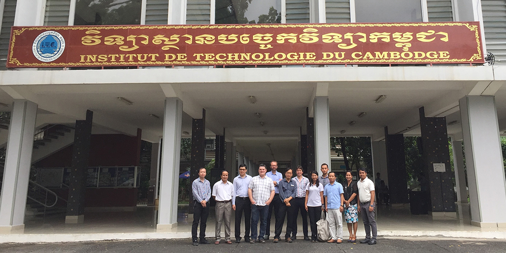 Participants at the first TEFRIC workshop, ITC, Phnom Penh, 18 July 2018