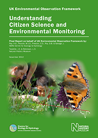 Front cover image of Gyide to Citizen Science full report