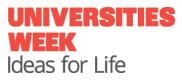 University Week - Ideas for Life logo