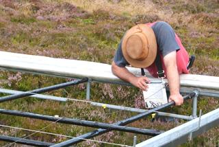 Vegetation analysis at Clocaenog uplands monitoring site