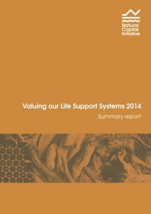 Valuing our Life Support Systems report cover