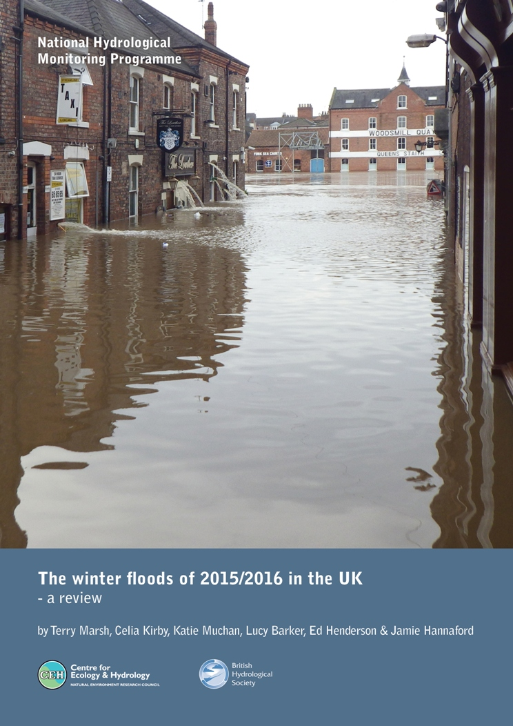 Winter Floods Of 2015-2016 Report Front Cover