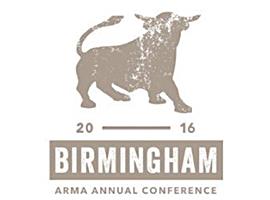 ARMA 2016 conference logo