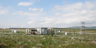 CEH's atmospheric monitoring site at Auchencorth Moss in Scotland