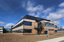 The Chiltern Wing, at CEH's Wallingford site, provides state-of-the-art laboratory facilities