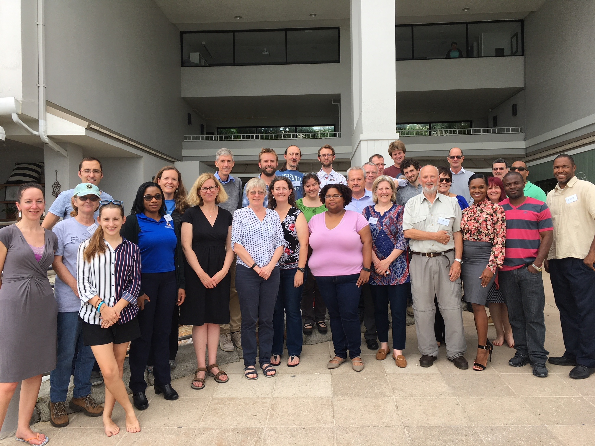 Experts who attended a workshop in Grand Cayman in May 2018 led by CEH scientists