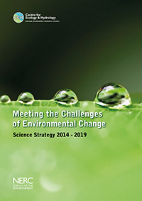 Cover of the CEH Science Strategy 2014-2019