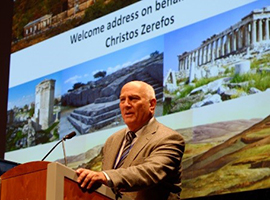 Christos Zerefos, outgoing president of the International Ozone Commission