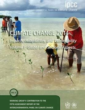 Cover of the IPCC report