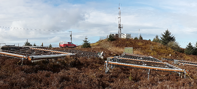 Climate change experiments at the Clocaenog field site