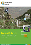 Cover of UK Countryside Survey headline messages report