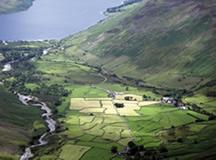 a British landscape scene