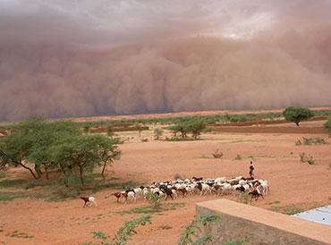 Storm in Sahel