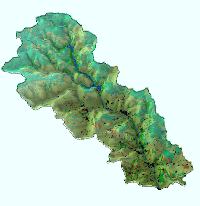River catchment land use