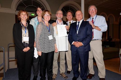 Award recipients at the Ozone Symposium