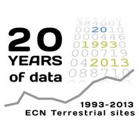 Environmental Change Network's 20th anniversary logo