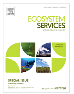 Cover of the Ecosystem Services journal special issue on Synthesizing OpenNESS