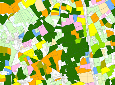 Sample detail from UKCEH Land Cover plus Crop Map