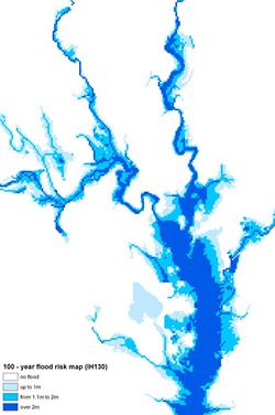 IH130 Flood risk maps