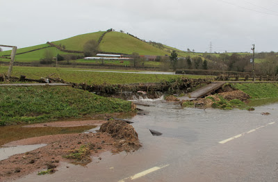 Flood damage in England, December 2012. Photo: Heather Lowther
