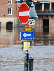 The WRN evaluates natural hazards  such as flooding. Photo: Shutterstock